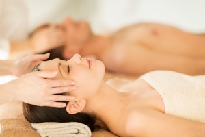 couple getting massage in Guelph, Ontario